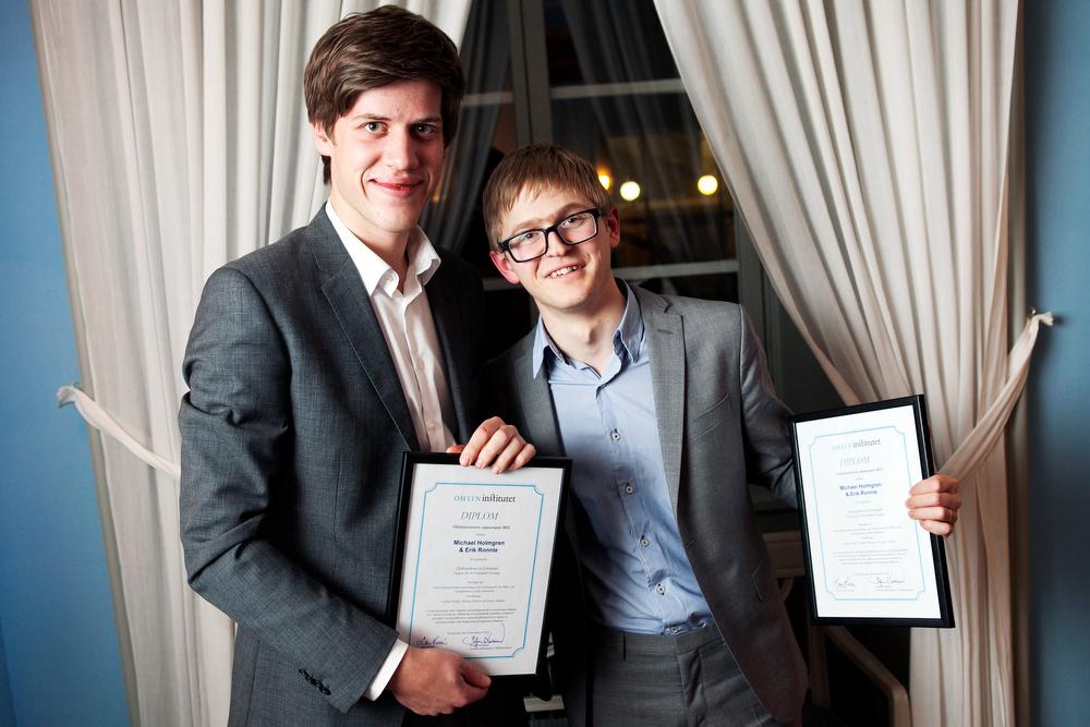 Michael Holmgren och Erik Ronnle