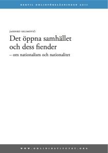 om nationalism och nationalitet